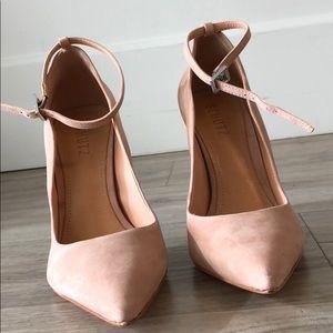 3744dc71c9c SCHUTZ Shoes - SCHUTZ Thaynara Ankle Strap Pointed Heels